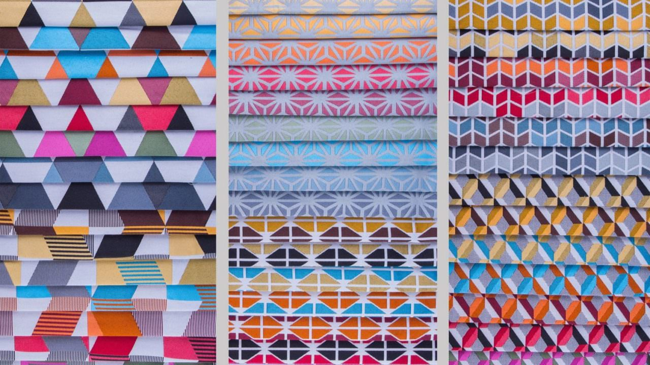 What is a jacquard print?